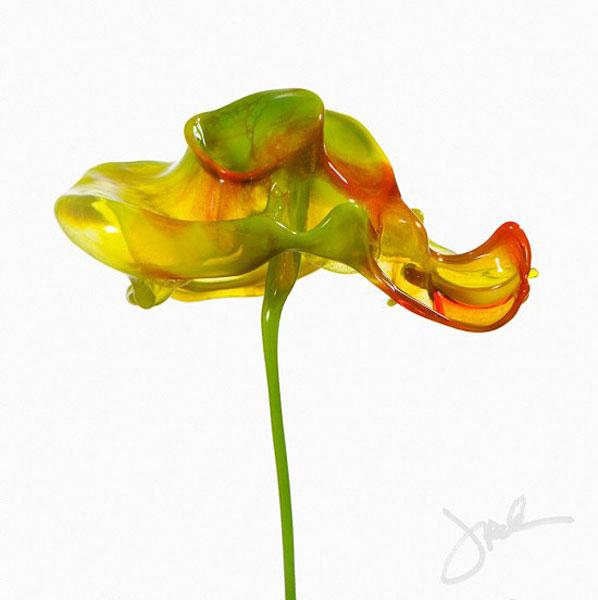 Paint Splash Flowers