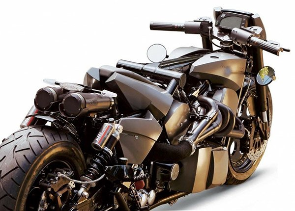 TwinTrax Motorcycle