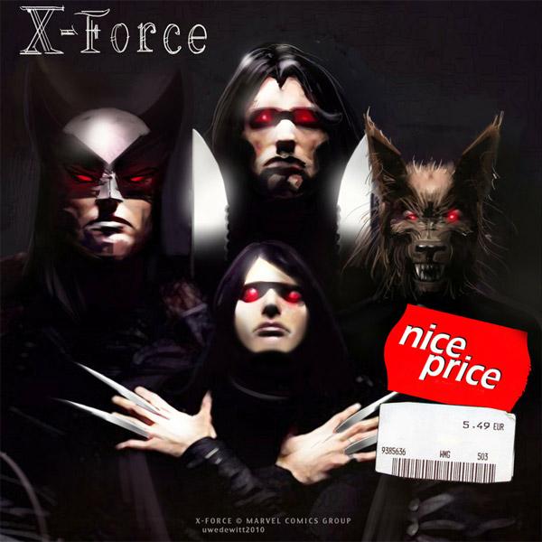 Superhero Album Covers