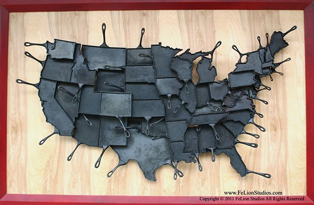 Made in America Skillets