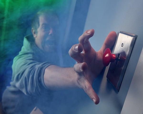 Panic Button Light Switch