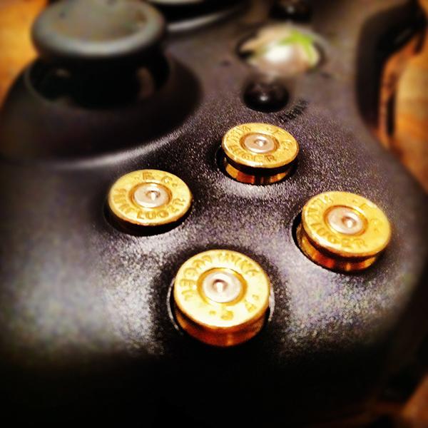 Xbox 360 Controller x Bullets