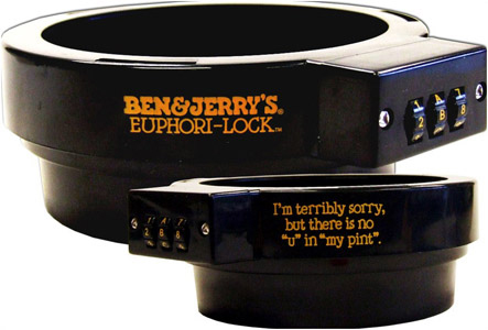 Ben & Jerry's Pint Lock