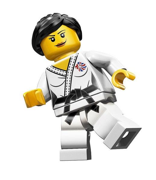 LEGO Team GB Minifigs