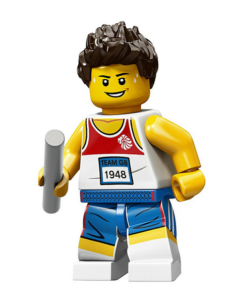 LEGO Team GB Minifigs