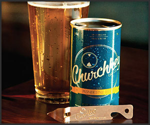 Churchkey Flat Top Pilsner