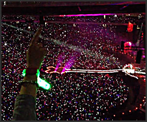 50,000 LED Wristbands