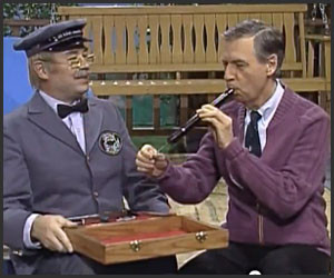 Mr. Rogers Auto Tuned Garden of Your Mind Video from PBS Goes Viral foto
