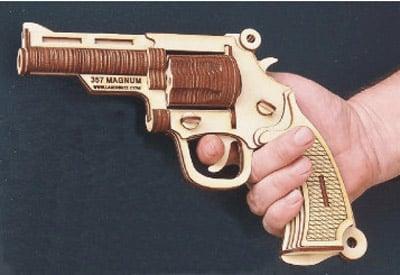 Laser-Cut 3D Gun Puzzles