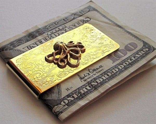 Octopus Money Clip