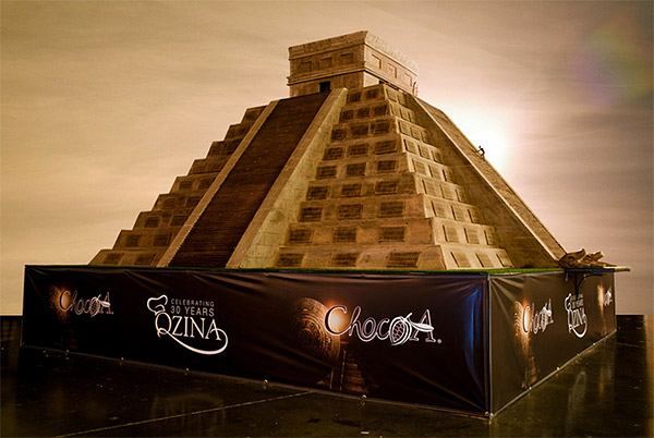9 Ton Chocolate Temple