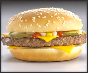 McDonald's Food Styling