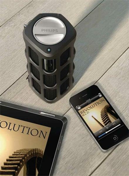 Philips Shoqbox Portable Speaker