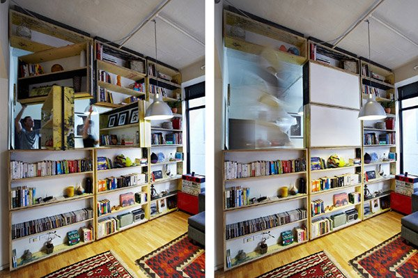 UnWaste Rotating Bookcase