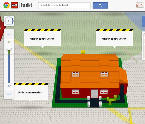 Google Chrome x LEGO: Build