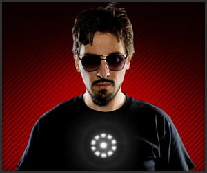 Tony Stark Light Up Tee