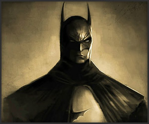 Batman Speed Art
