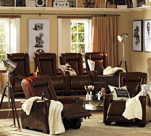 Home Theater Recliner Armchair