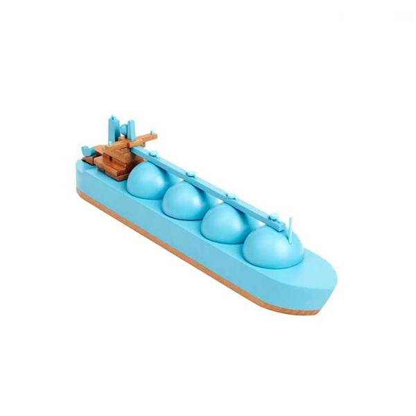 Wood Model Cargo Ships