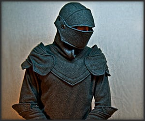 Grey Knight Armored Hoodie
