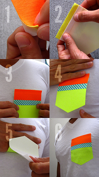 Stick-on Pockets