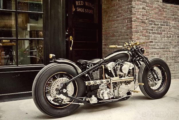 Rough Crafts Harley Knucklehead