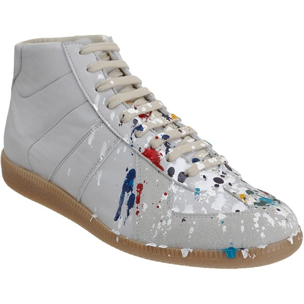 MMM Paint Splatter Sneakers
