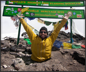 Legless Man Climbs Kilimanjaro