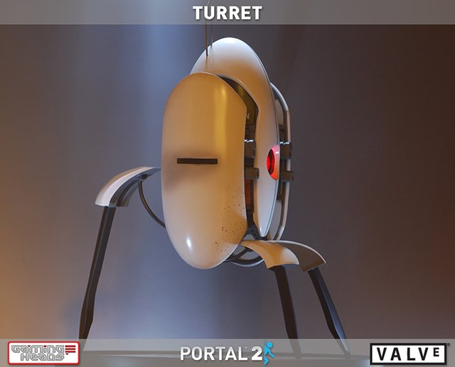 Portal 2 Turret Replica