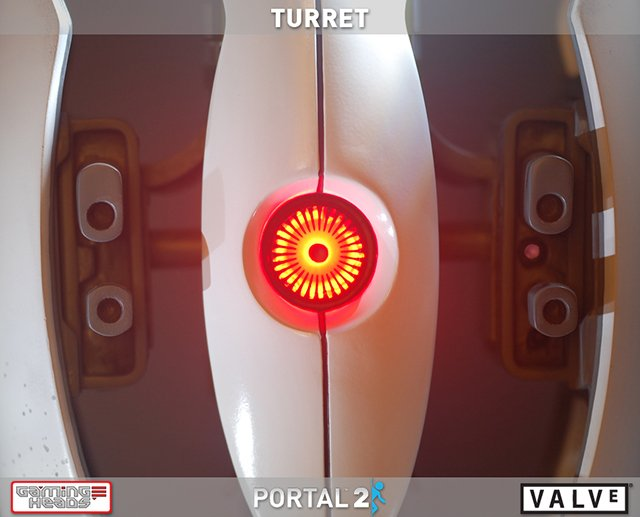 Portal 2 Turret Replica