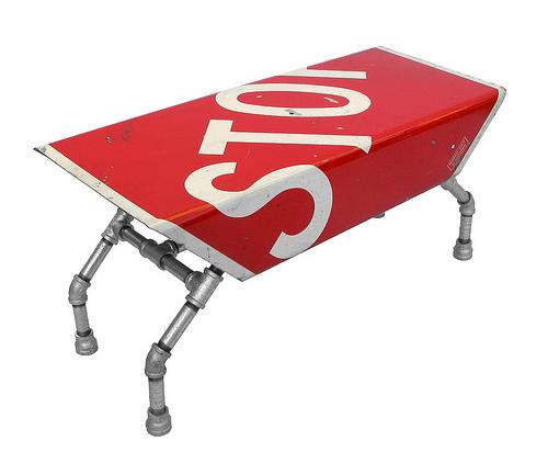 Street Sign Furniture
