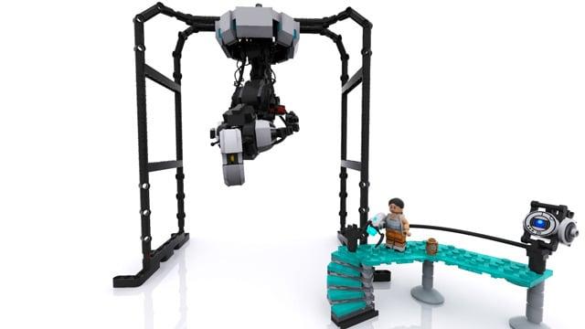 LEGO Portal 2 Concept