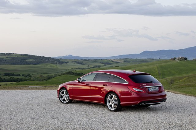 2013 MB CLS Shooting Brake