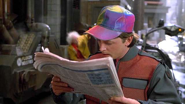 BTTF Marty McFly Cap