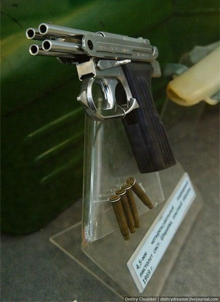Four-Barrel Underwater Dart Gun