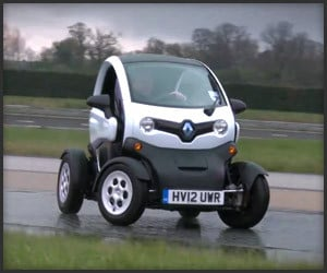 Renault Twizy Drifting