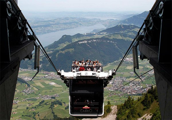 Cabrio Open Air Cable Car
