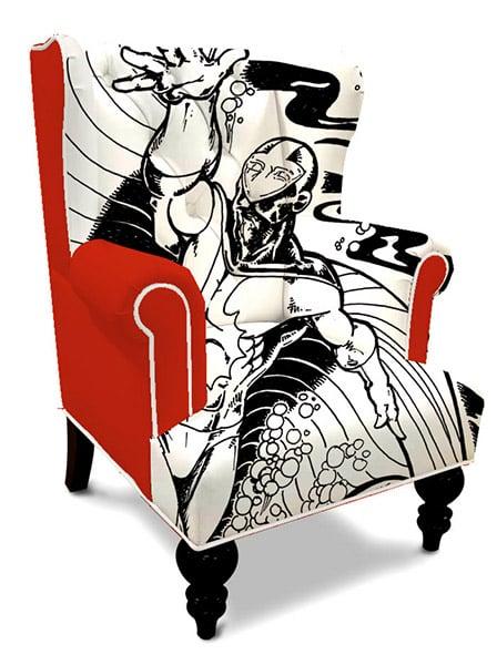 Superhero Wingback Chairs