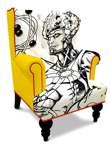 Superhero Wingback Chairs The Awesomer