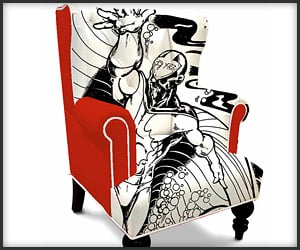 Superhero Wingback Chairs
