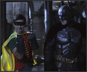 The Dark Knight & 60′s Robin