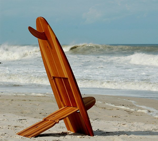 Bombwatcher Surfboard Chairs