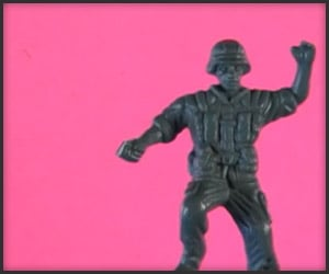 Dancing Plastic Army Men