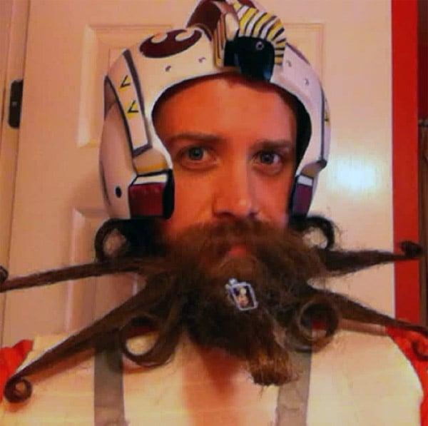 The X-Wing Beard