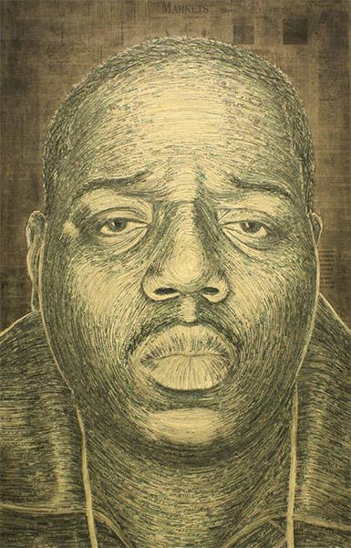 Shredded Money Portraits