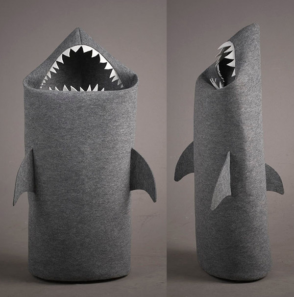 Shark Laundry Basket