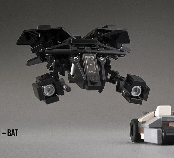 Mini Batman Vehicles