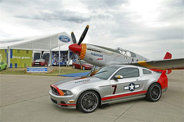 Mustang GT Red Tails Edition