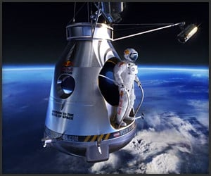 Red Bull Stratos CGI