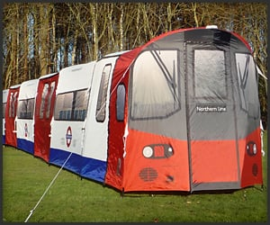 Subway Train Tent